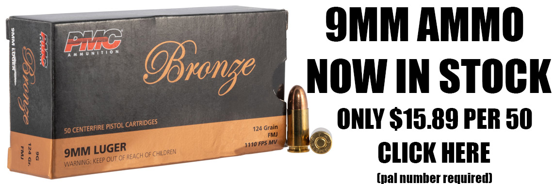 9MM Ammo In Stock
