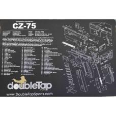 DoubleTap Sports Gun Cleaning Mat CZ75