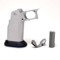Cheely Custom E2 Smooth Grip for 2011 Stainless Steel-Double Undercut - PRE-ORDER