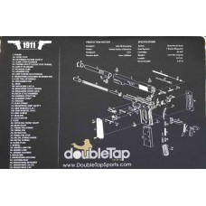 DoubleTap Sports Gun Cleaning Mat 1911