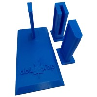 DoubleTap Sports Gun Stand with 3 Inserts for Single Stack/Double Stack/.22 Calibre