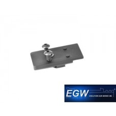 EGW 49447 Tanfoglio Vortex Razor/C-More RTS2/STS2 Sight Mount (Dovetail)