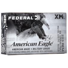 Federal American Eagle .223 55Gr FMJ (20)