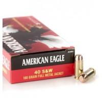 Federal American Eagle 40 S&W 180 Grain Full Metal Jacket (50)