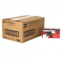 Federal American Eagle 9mm Luger 124 Grain Full Metal Jacket Case of 1000