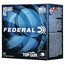 Federal Top Gun 12 Ga. 2 3/4, 1 1/8oz #8 Shot (25)