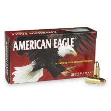 Federal American Eagle 9mm Luger 124 Grain Full Metal Jacket (50)