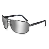 Wiley X Hayden Polarized Silver Flash/Matte Dark Gunmetal Frame