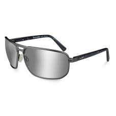 Wiley X Hayden Polarized Silver Flash/Matte Dark Gunmetal Frame