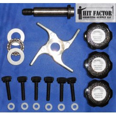 Hit Factor Ultimate Shellplate Bearing Kit for Dillon RL 550 with Extra Long Bolt