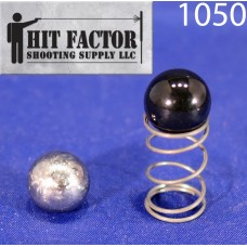 Hit Factor Low Mass Detent Ball & Reduced Power Spring for Dillon RL 1100 / Super 1050