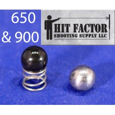 Hit Factor Low Mass Detent Ball & Reduced Power Spring for Dillon XL 650/ XL 750/ 900