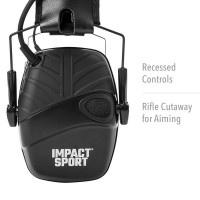 Howard Leight Impact Sports Over The Ear Electronic Muffs