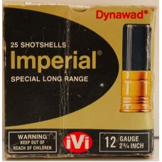 Imperial Special Long Range 12Ga Shotshell Surplus (25 rounds)