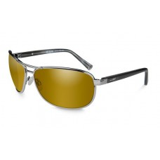 Wiley X Klein Polarized Venice Gold Mirror/Gunmetal Frame