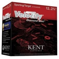 Kent Velocity Diamond Shot Target 12 Gauge Shotgun Ammo - 2-3/4