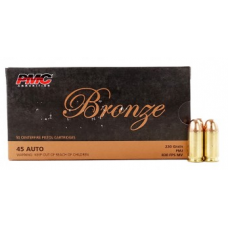 PMC 45 Auto 230 Gr FMJ Bronze Ammunition