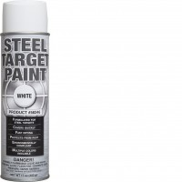 Steel Target Paint White