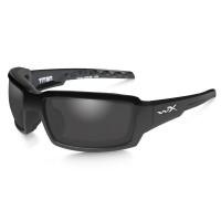 Wiley X Titan Polarized Grey Lens/ Gloss Black Frame