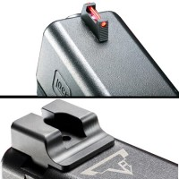 Taran Tactical Innovations Ultimate Fibre Optic Sight Set For Glock (Front and Rear)