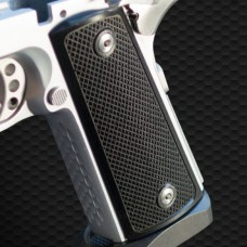 Techwell Aluminum Checkered Grips 1911