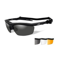 Wiley X Guard Advanced Grey/Clear/Rust Matte Black