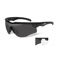 Wiley X Rouge Grey/Clear/Matte Black Frame