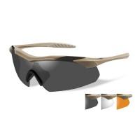 Wiley X Vapor Grey/Clear/Rust/Tan Frame