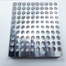 XG 100-Pocket 40 S&W Case Gauge NO FLIP TRAY